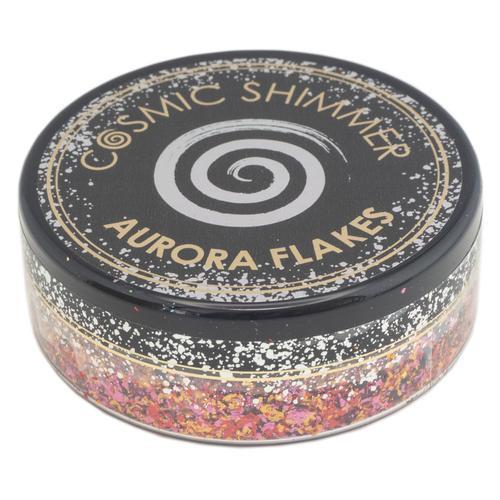 Cosmic Shimmer Aurora Flakes Amber Glow