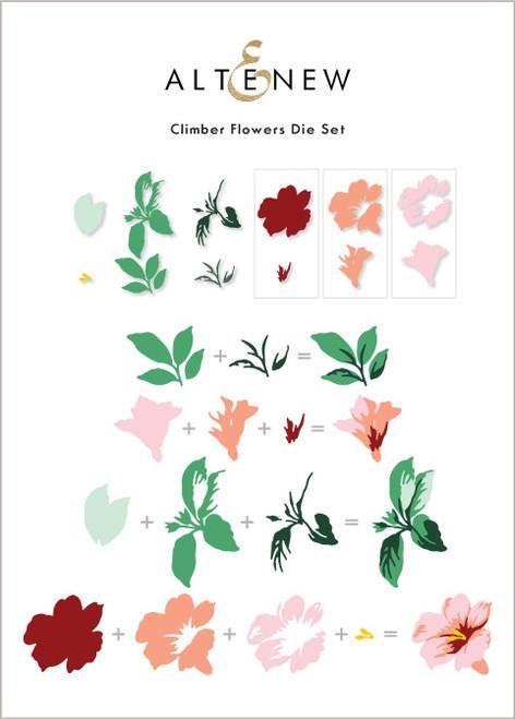 Altenew Climber Flowers die Set