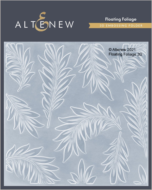 Altenew 3D Embossing Folder Floating Foliage