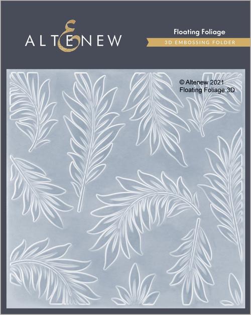 Altenew 3D Embossing Folder Floating Foliage