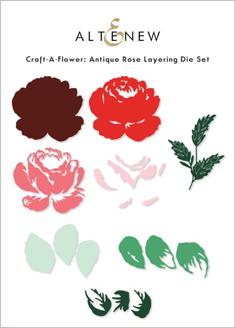 Altenew Craft A Flower Antique Rose Die Set