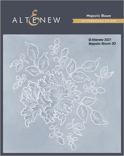 Altenew 3D Embossing Folder Majestic Bloom