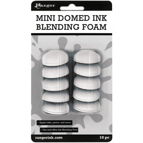Ranger Mini Ink Domed Blending Foams 10/Pkg