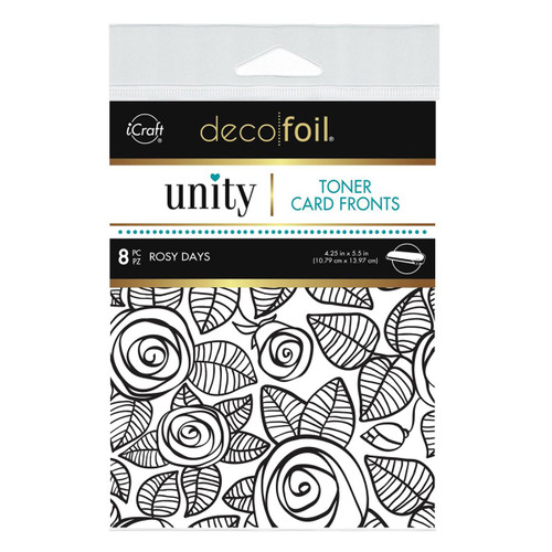 Thermoweb Unity Toner Card Fronts Rosy Days