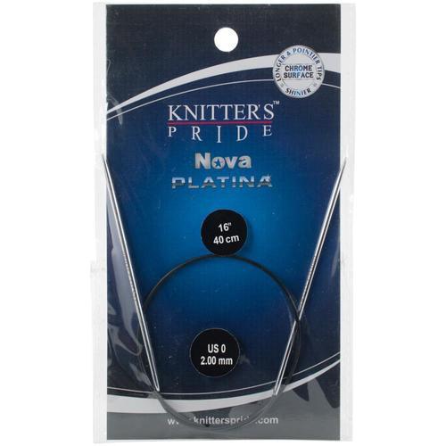 "Nova Platina Fixed Circular 16"" size 0"