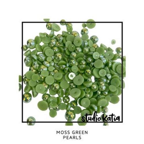 Studio Katia Moss Green Pearls
