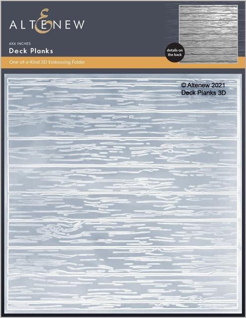 Altenew 3D Embossing Folder Deck Planks