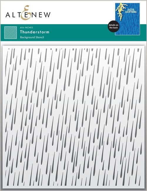 Altenew Thunderstorm Stencil