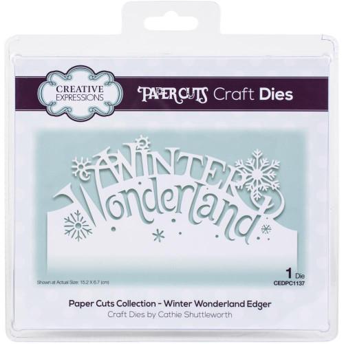 Creative Expressions Paper Cuts Edger die Winter Wonderland