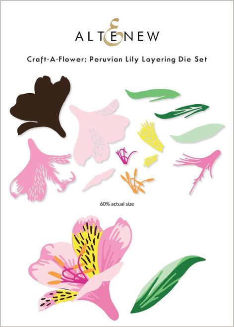 Altenew Craft A Flower Peruvian Lily
