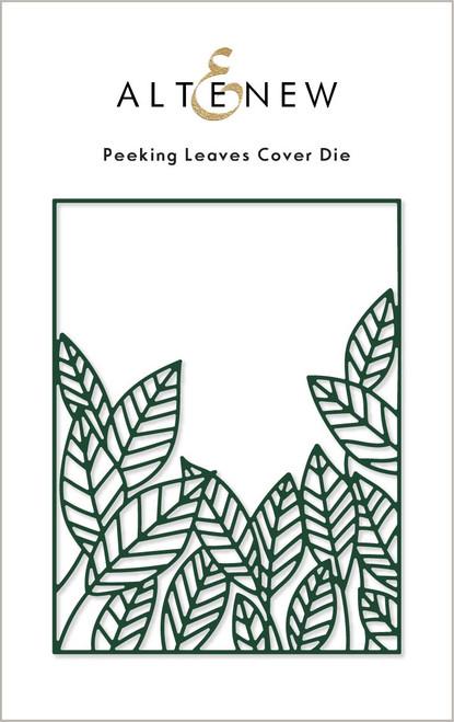 Altenew Peeking Leaves Cover die