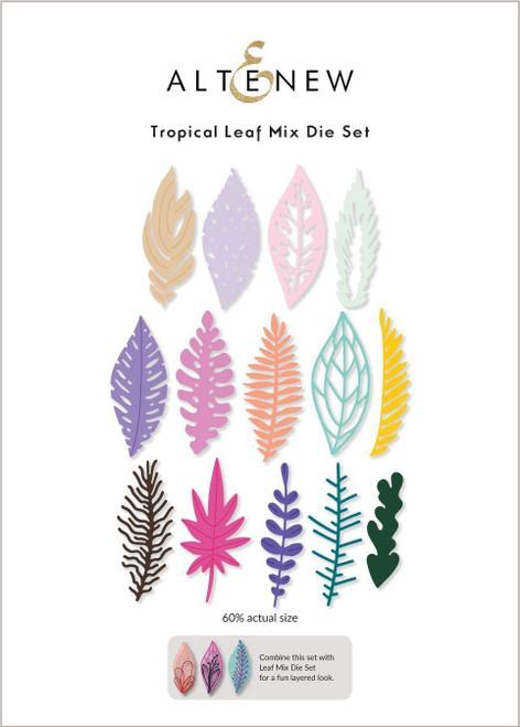 Altenew Tropical Leaf Mix Die Set
