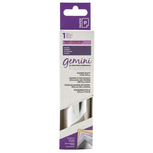 Gemini Hot Foil Roll Silver