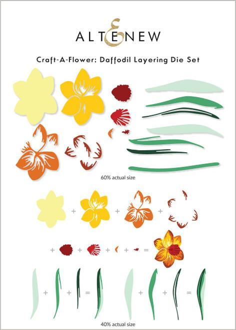 Altenew Craft A Flower Daffodil Layering Die Set