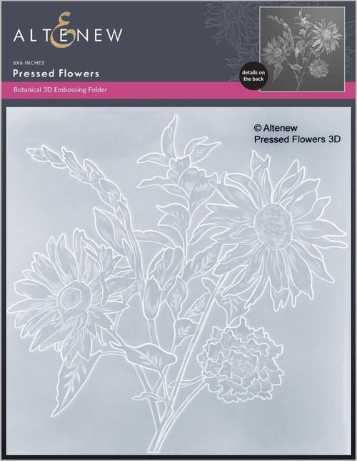 Altenew Pressed Flowers 3D Embossing Folder