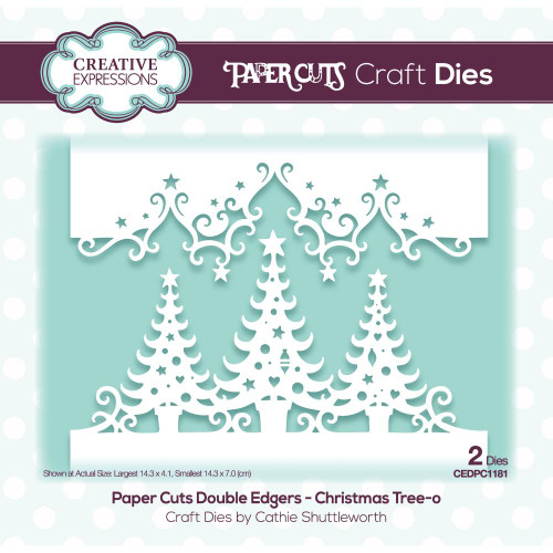 Creative Expressions Die Paper Cuts Christmas Tree O Double Edger