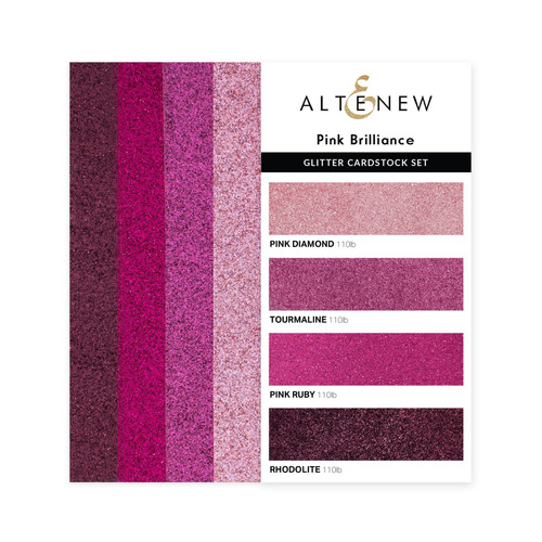 Altenew Cardstock Set Pink Brilliance
