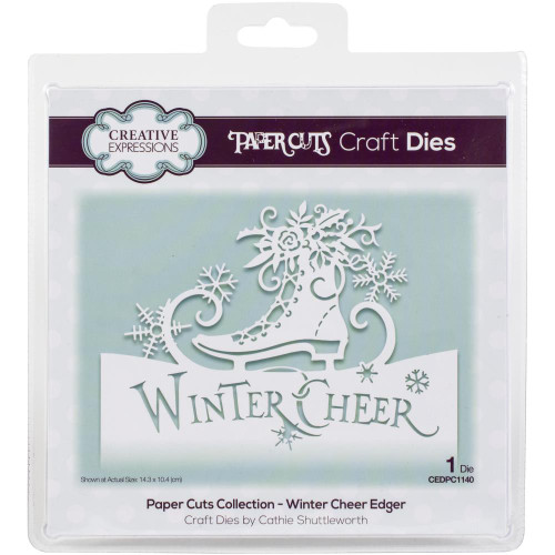 Creative Expressions Paper Cuts Edger die Winter Cheer