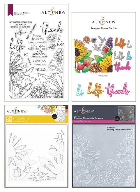 Altenew Craft Your Life Kit Seasonal Blooms