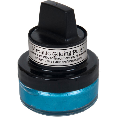 Cosmic Shimmer Guilding Polish Ocean Teal