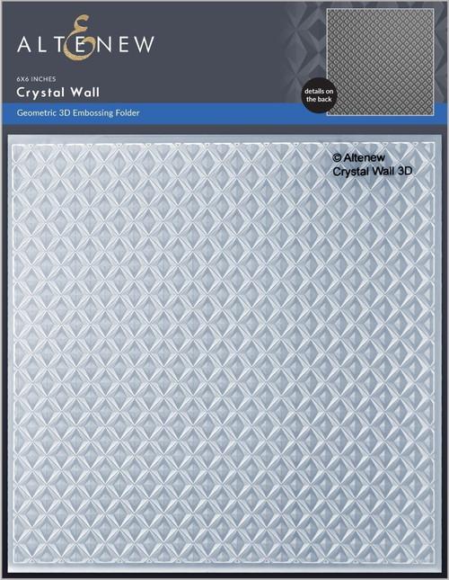 Altenew Crystal Wall 3D Embossing Folder