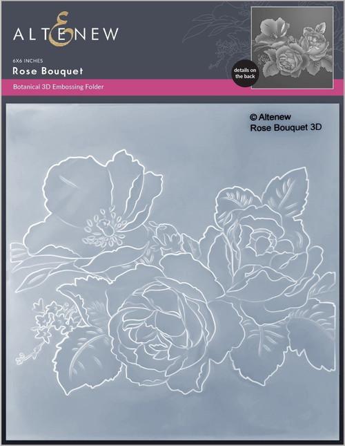 Altenew Rose Bouquet 3D Embossing Folder
