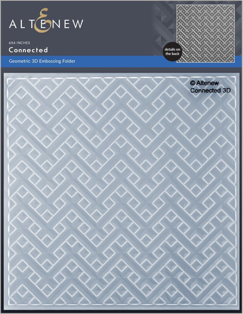 Altenew Connected 3D Embossing Folder