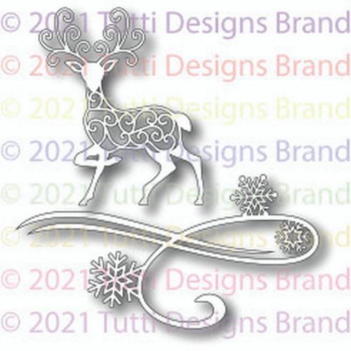 Tutti Designs Swirly Deer
