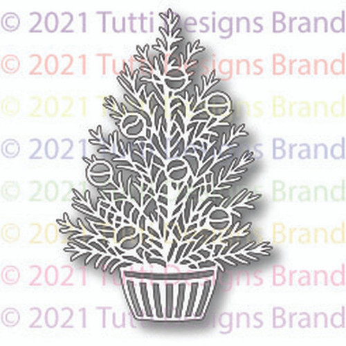 Tutti Designs Potted Christmas Tree