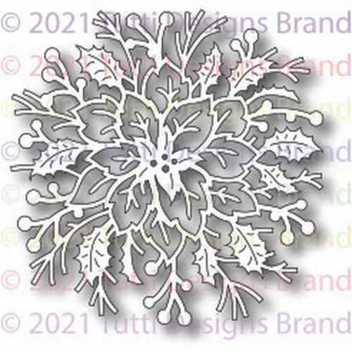 Tutti Designs Elegant Poinsettia