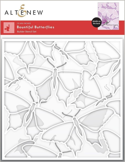 Altenew Bountiful Butterflies Stencil Set