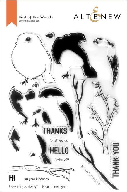 Altenew Bird of the Woods Stamp Set