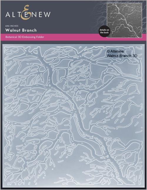 Altenew Walnut Branch 3D Embossing Folder