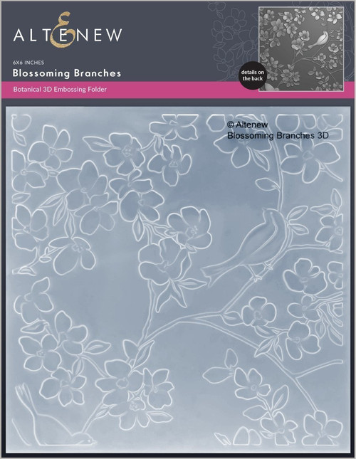 Altenew Blossoming Branches 3D Embossing Folder