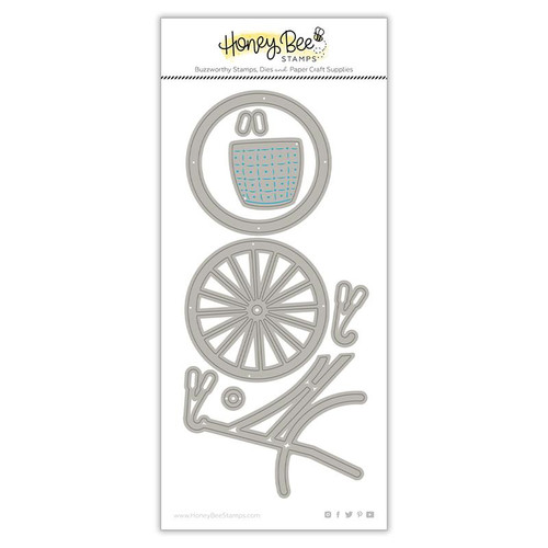 Honey Bee Honey Cuts Lovely Layers Bicyce Builder set