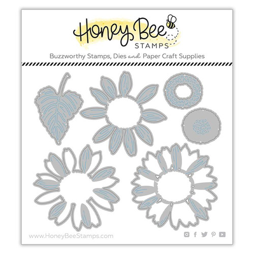 Honey Bee Lovely Layers Sunflowers Die Set
