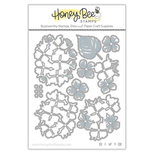 Honey Bee Lovely Layers Hydrangea Die Set