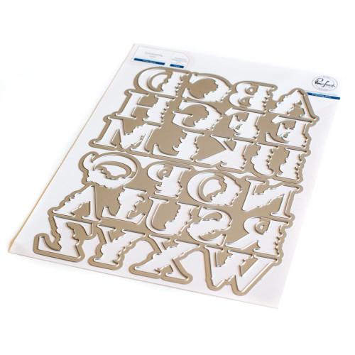 Pinkfresh Studio Inna's Alphabet Die