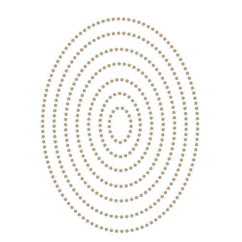 Spellbinders Glimmer Essential Ovals Hot Foil Plate