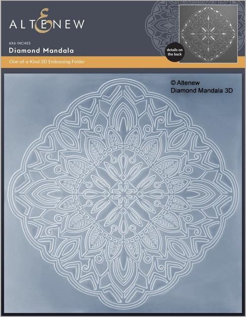 Altenew Diamond Mandala 3D Embossing Folder