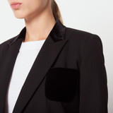 Black tailored jacket - Black
