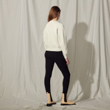 Sandro sweater with long sleeves in ecru