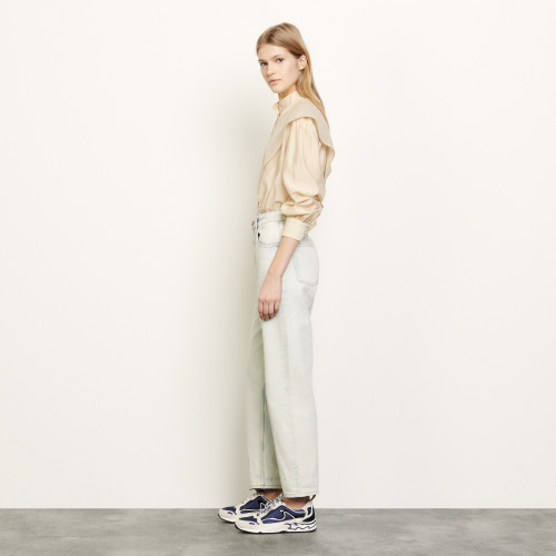 Snow washed jeans - DenimBleached