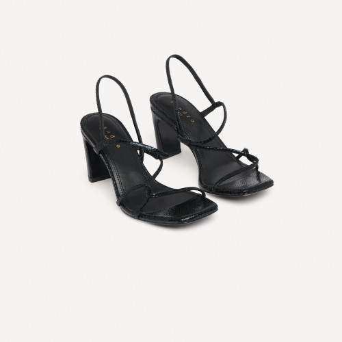 Sandro Paris Women's Sandals with narrow straps - Black