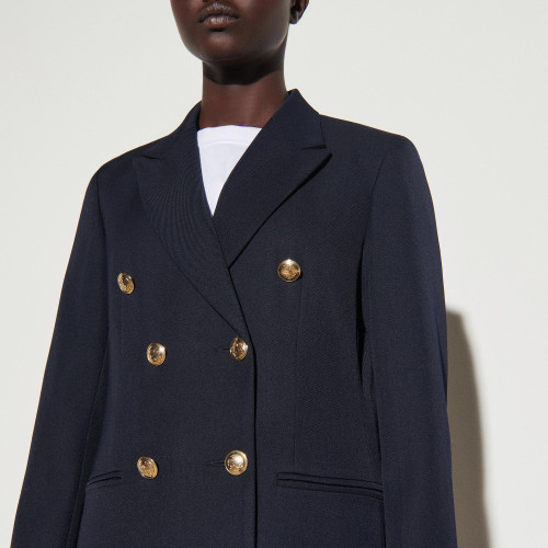 Double breasted suit jacket - Navy