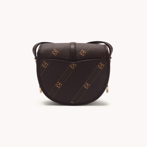 Bag with contrasting monogram - Brown
