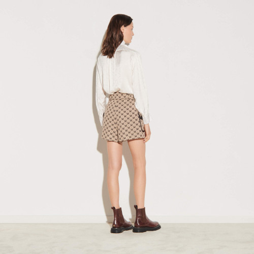 Double S jacquard shorts - Multiclr