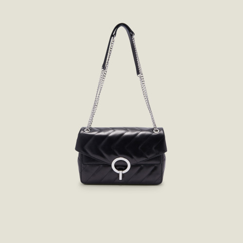 Yza quilted bag - Black