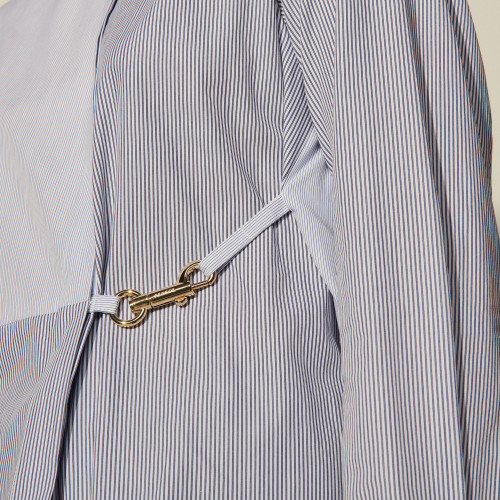 Stripy shirt with snap hook - Multiclr