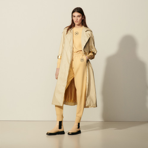 Sandro Flowing trench coat